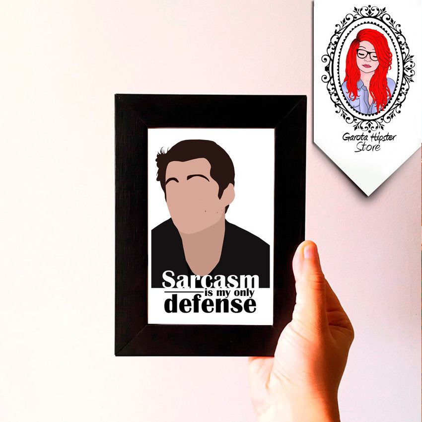 Quadro Wolf - Sarcasm is my Only Defense