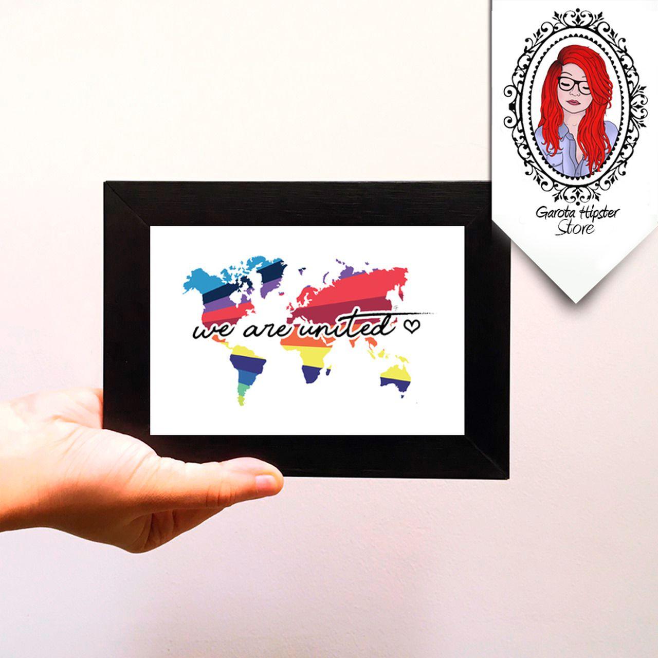 Quadro Decorativo - We Are United