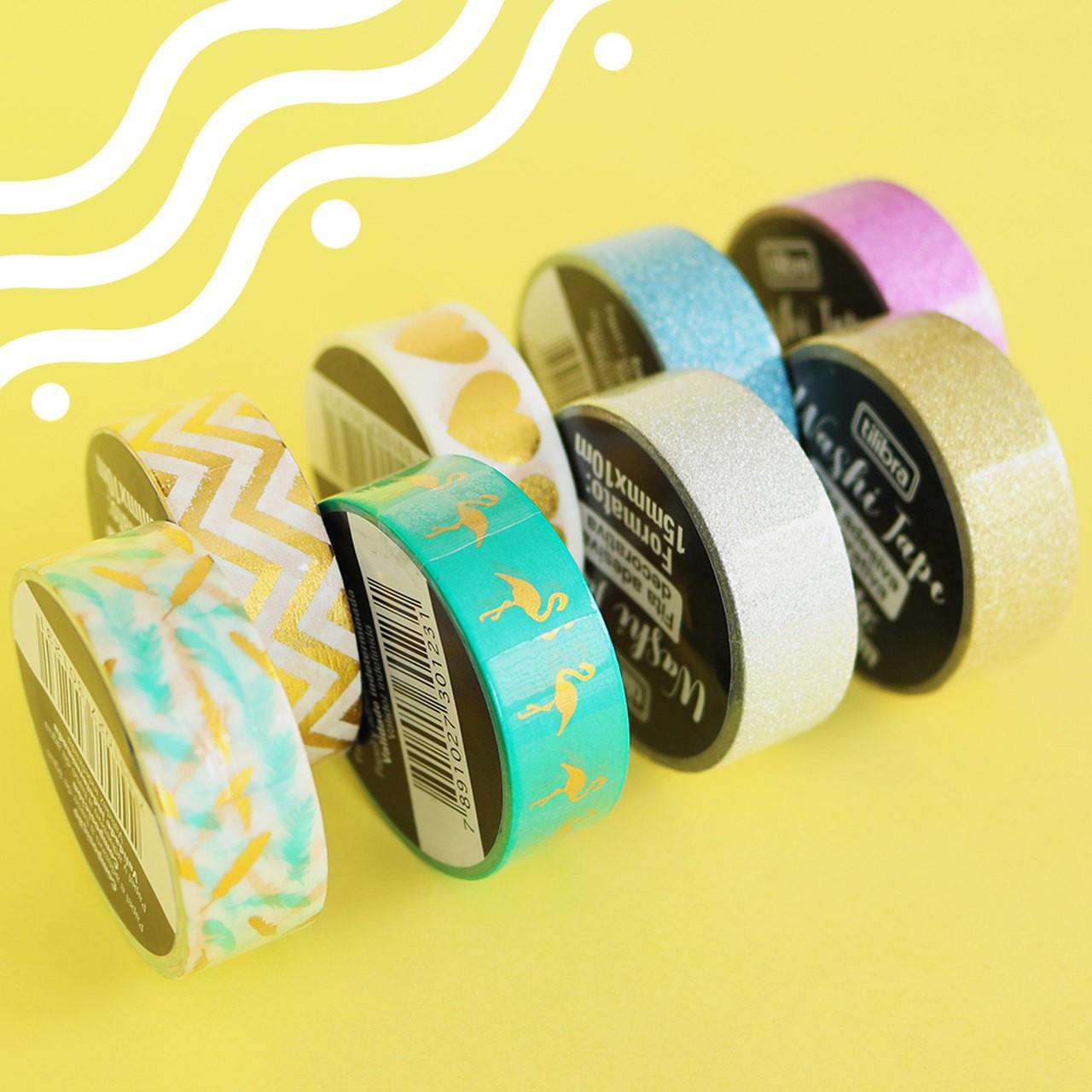 Washi Tape - 10m (Escolha o Modelo)