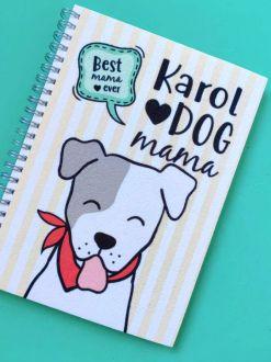 Agenda Dog Mama Personalizada com Nome