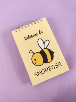 Bloquinho Bee Happy com Nome