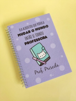 Caderno Mudar o Mundo - Professora