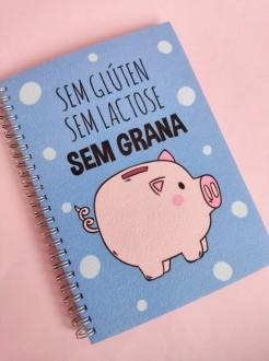 Caderno Sem Glúten Sem Lactose Sem Grana