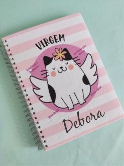 Caderno Virgem  Personalizado com Nome