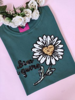 Camiseta Bem me Quero Verde