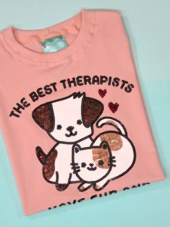 Camiseta Best Therapists Rosê