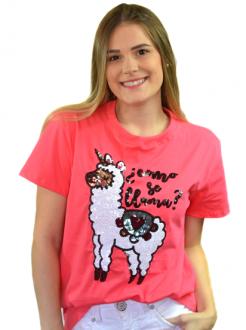 Camiseta Como Se Llama Coral