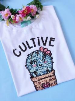 Camiseta Cultive o Bem Branca