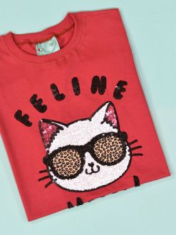 Camiseta Feline