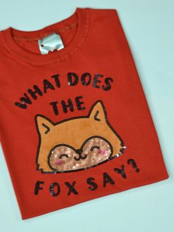 Camiseta Fox Ferrugem