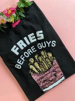 Camiseta Fries Before Guys