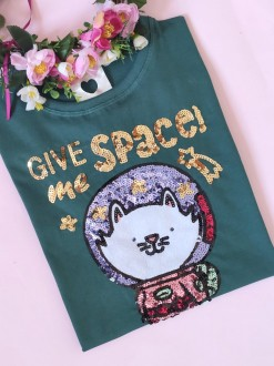 Camiseta Give Me Space Verde