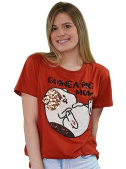 Camiseta Guinea Pig Mom