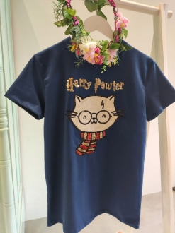 Camiseta Harry Pawter