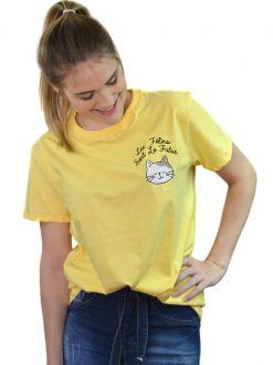 Camiseta Le Félins Sont Le Futur