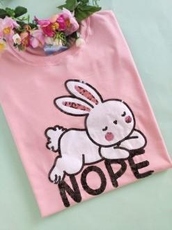 Camiseta Nope Not Today Salmãozinho