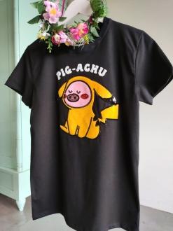 Camiseta Pig-Achu