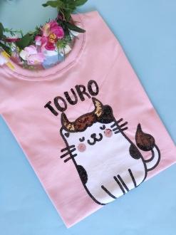 Camiseta Touro Rosa
