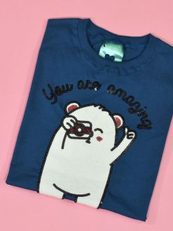Camiseta You Are Amazing Azul