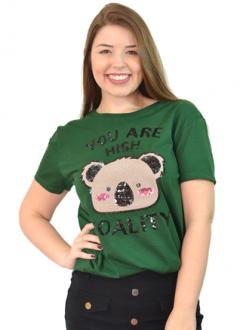 Camiseta You Are High koality Verde