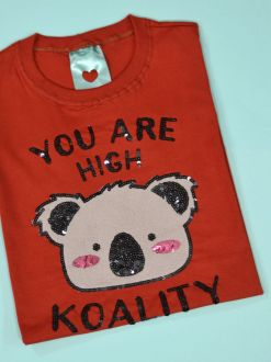 Camiseta You Are High koality Ferrugem