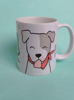 Caneca de Cachorro personalizada com seu nome