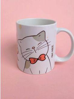 Caneca de Gato personalizada com seu nome
