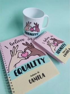 Kit Equality Personalizado com Nome (3 peças)