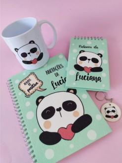 Kit Panda Personalizado com Nome