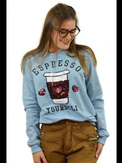 Moletom Espresso Yourself Azul