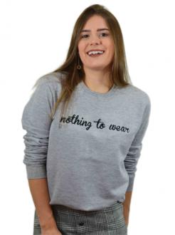 Moletom Nothing to Wear Mescla