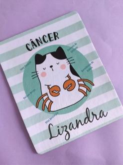 Mouse Pad Câncer Personalizado com Seu Nome