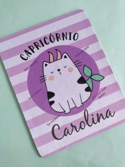 Mouse Pad Capricórnio Personalizado com Seu Nome