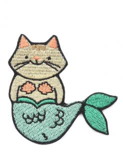 Patch Cat Mermaid
