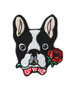 Patch French Bulldog