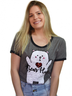 T-Shirt Bear Hug Chumbo