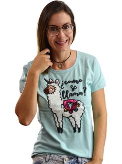 T-shirt Como se Llama Mint
