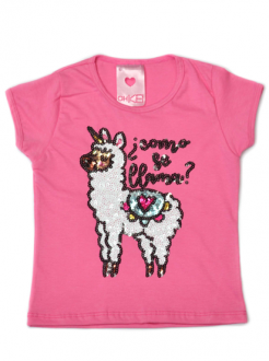 T-Shirt Como Se Llama Rosa Kids