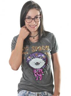 T-shirt Give Me Space Chumbo