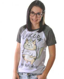 T-shirt Unicorn As You Wish Sublimada