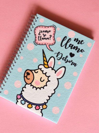 Caderno Personalizada com Nome