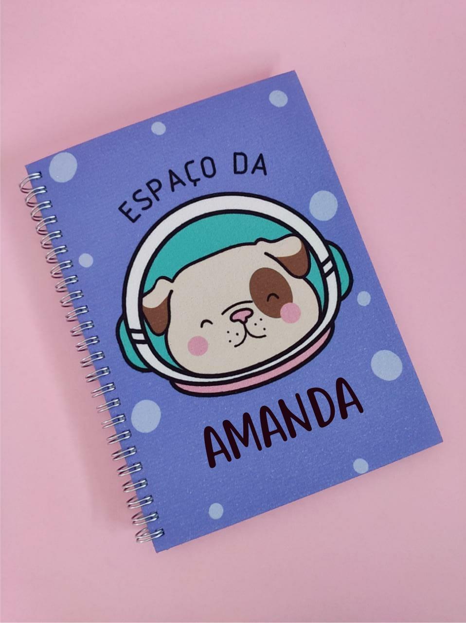 Caderno Explore Personalizado com Seu Nome