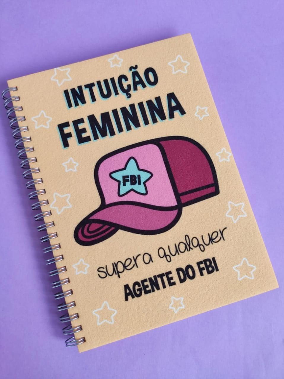 Caderno Intuição Feminina