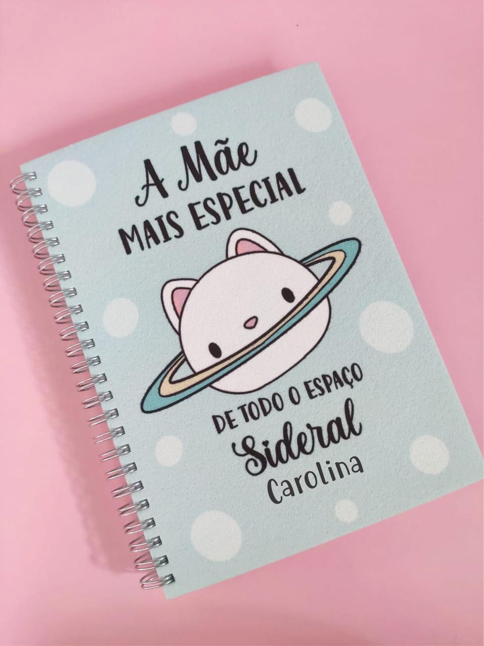 Caderno Mãe Mais Especial Personalizado com Nome