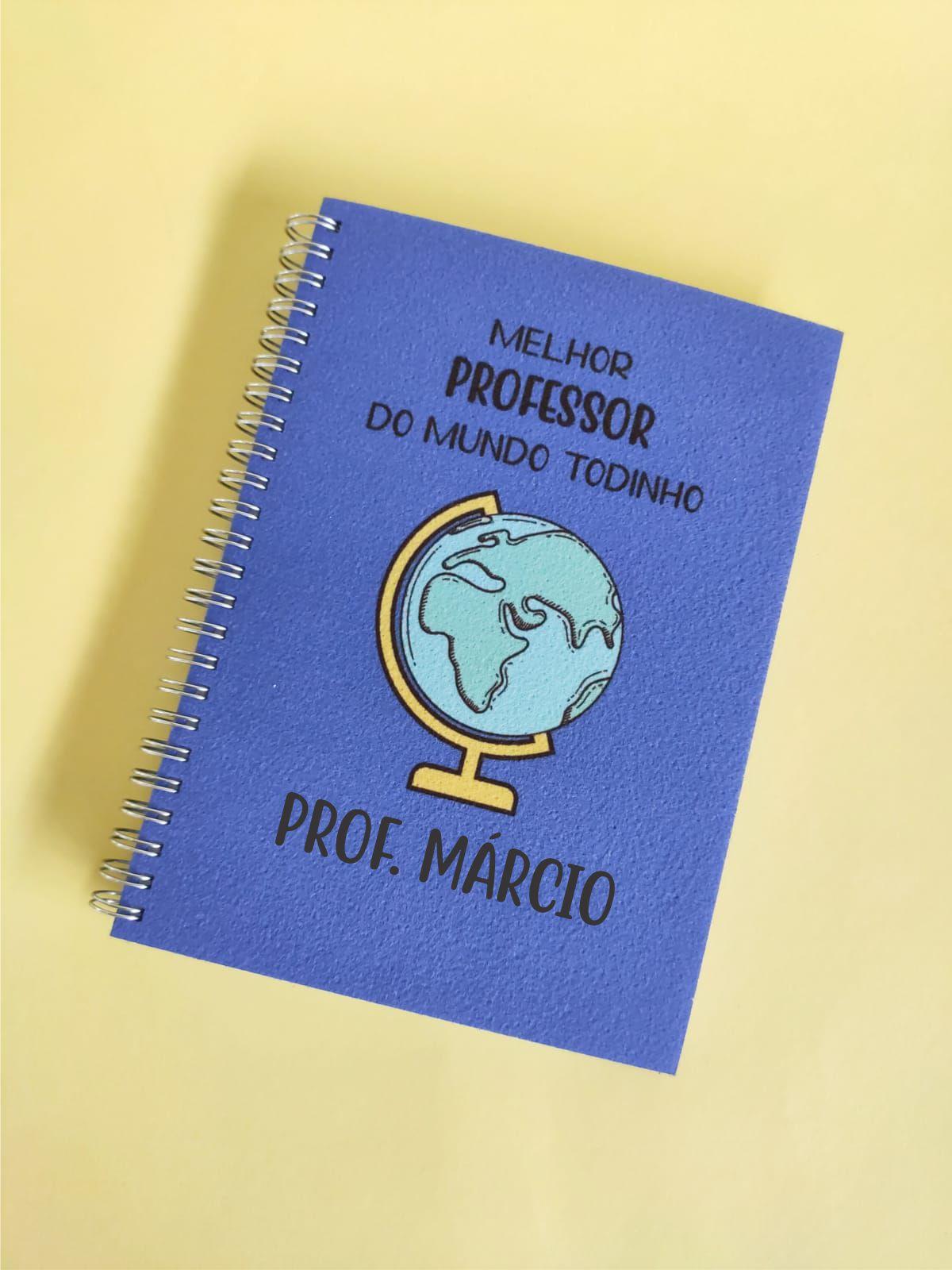 Caderno Melhor Professor do Mundo