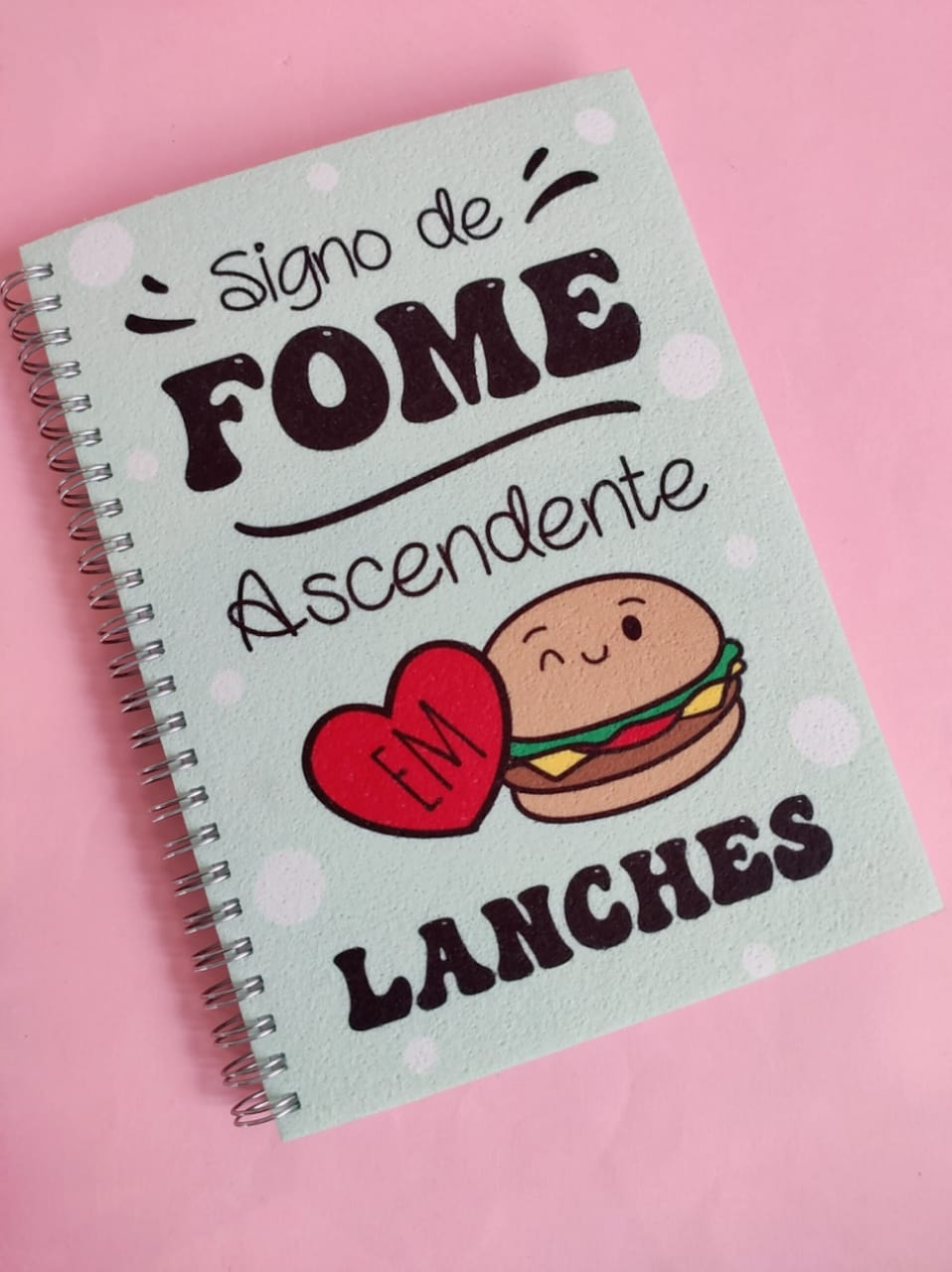 Caderno  Signo de Fome