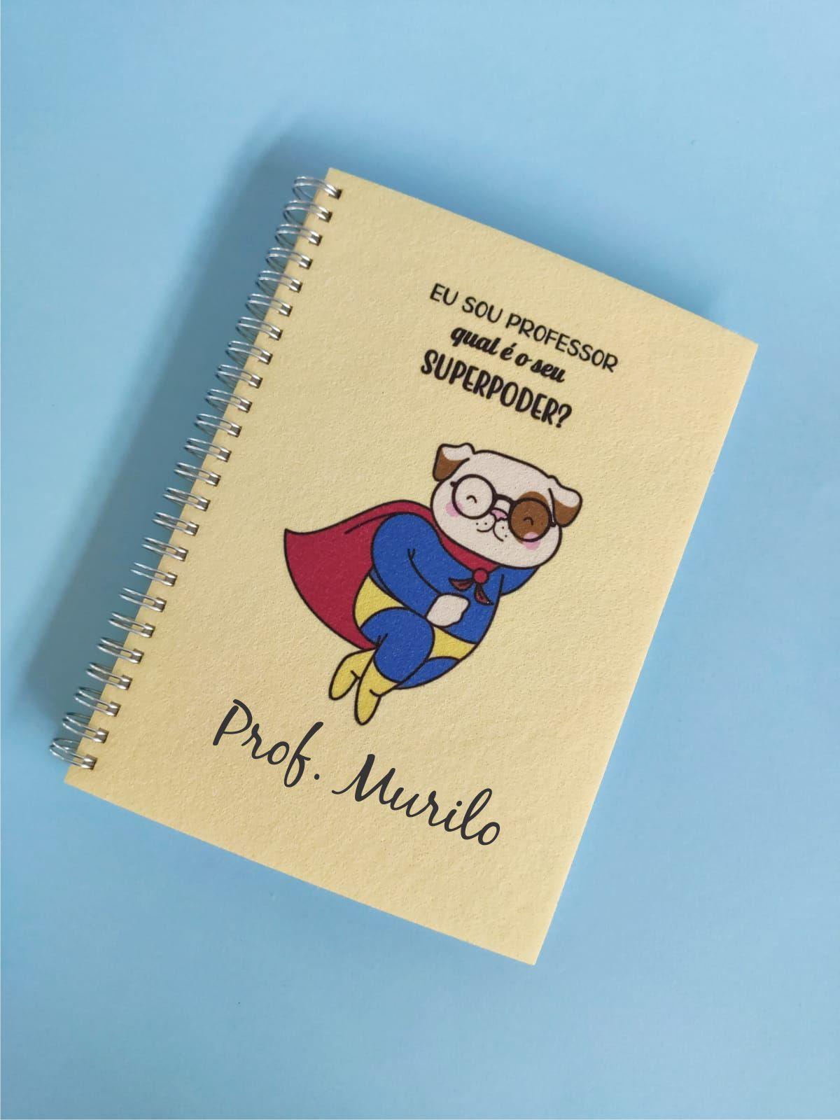Caderno Superpoder Professor