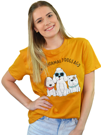Camiseta 3 Dogs Ago