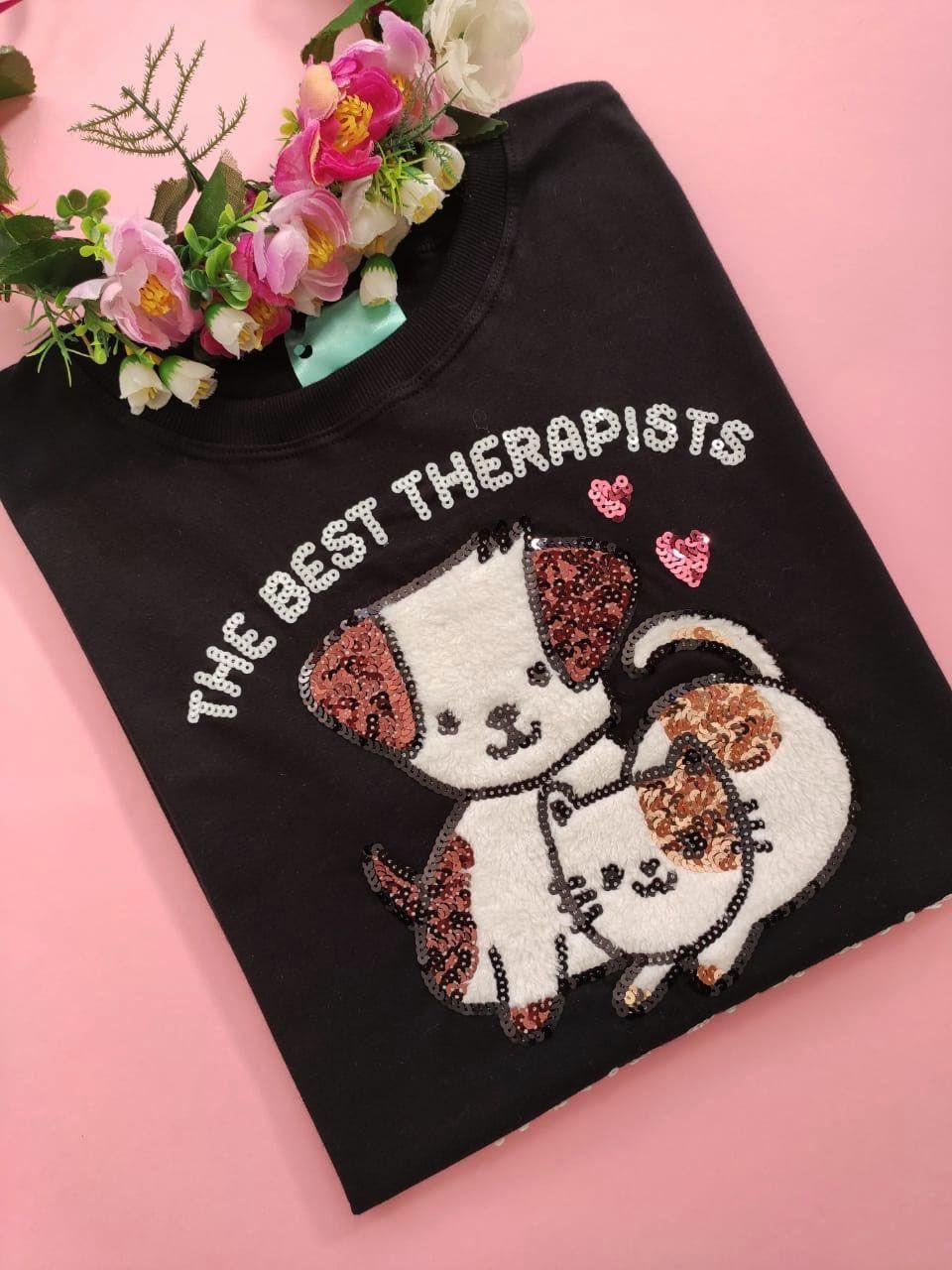 Camiseta Best Therapists Preta