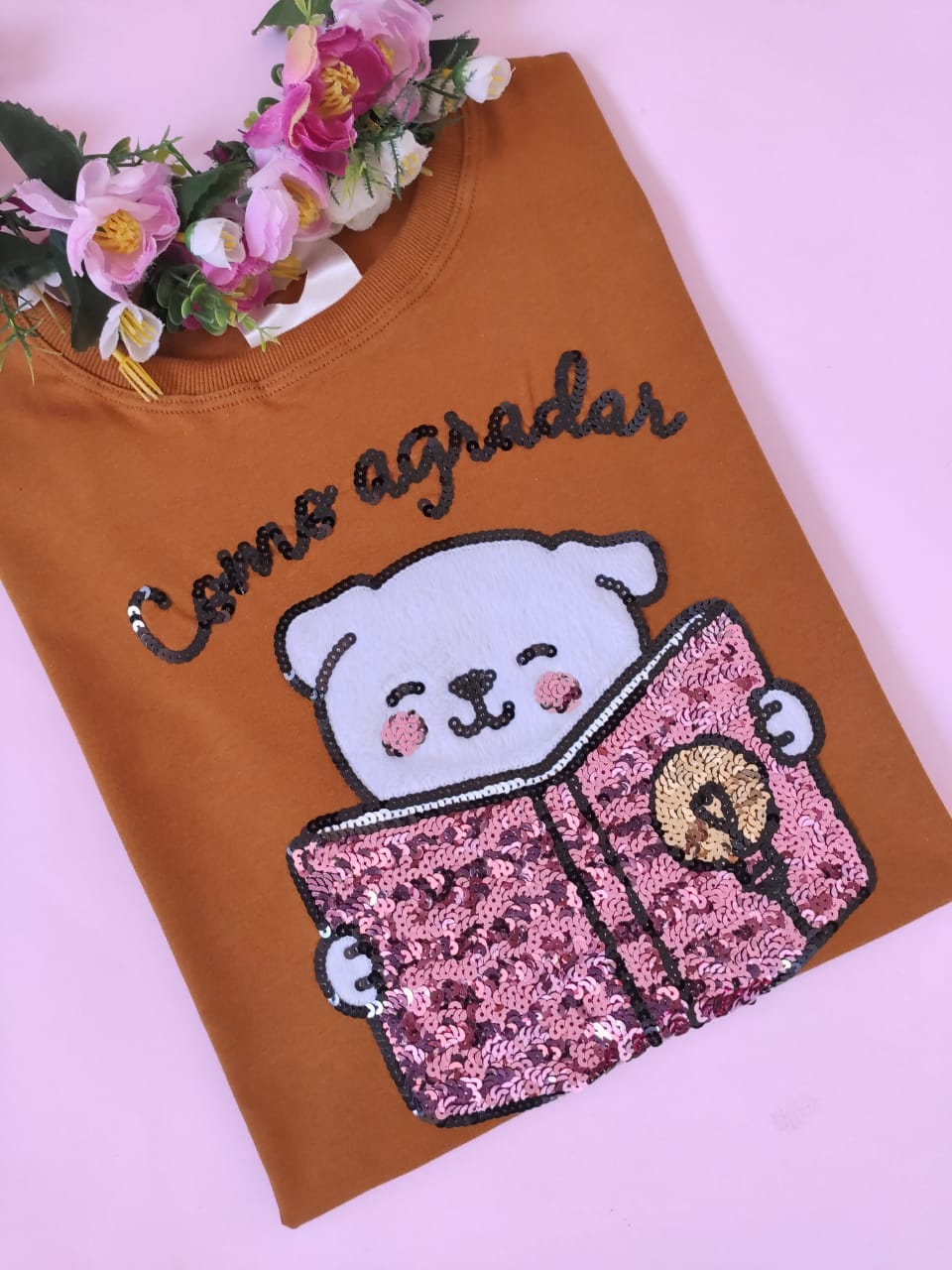 Camiseta Como Agradar seu Humano Caramelo
